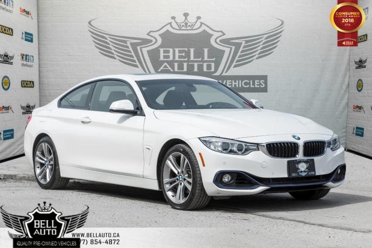 2015 BMW 4 Series 428i xDrive, COUPE, SPORT PKG, NAVI, BACK-UP CAM, SENSORS, PADDL