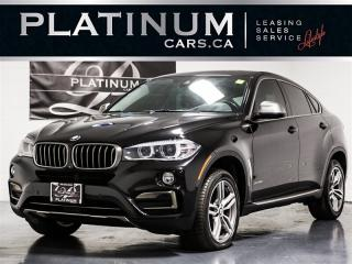 Used 2015 BMW X6 xDrive35i NAVI, Heads UP DISP, Drive ASSIST, 360 for sale in Toronto, ON