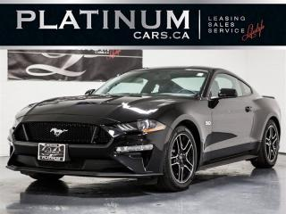 Used 2018 Ford Mustang GT 5.0 PREMIUM, NAVI, CAM, Heated Cooled Lthr for sale in Toronto, ON