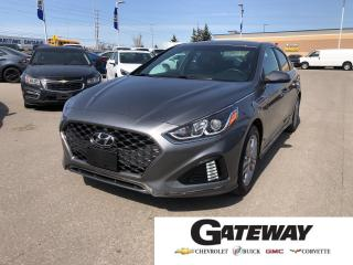 Used 2018 Hyundai Sonata Sport|SUNROOF|ANDROID AUTO-APPLE CARPLAY|CAMERA| for sale in Brampton, ON