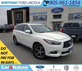 Used 2017 Infiniti QX60 | AWD | NAV | PWR HTD LTHR | SUNROOF | 360 CAM for sale in Brantford, ON