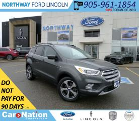 Used 2017 Ford Escape SE | AWD | NAV | PWR HTD SEATS | PWR TAILGATE | for sale in Brantford, ON