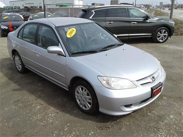 Used 2004 Honda Civic Sdn Lx For Sale In Oak Bluff Manitoba