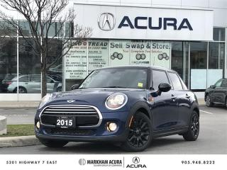 Used 2015 MINI Cooper 5 Door A/S Tires Rims, Pano Roof, Bluetooth for sale in Markham, ON