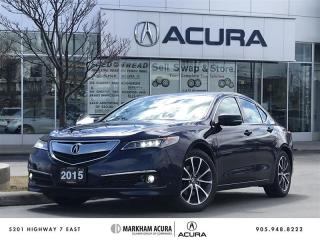 Used 2015 Acura TLX 3.5L SH-AWD w/Elite Pkg Navi, Vented Seats, Park Sensors for sale in Markham, ON