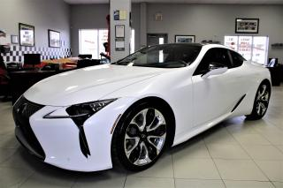 Used 2018 Lexus LC500 H HYBRID!! OVER 350HP for sale in Bolton, ON