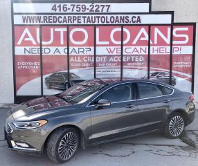 Used 2017 Ford Fusion SE-ALL CREDIT ACCCEPTED for sale in Scarborough, ON