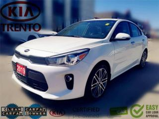 Used 2019 Kia Rio EX Tech Auto w-Navigation|Sunroof|Leather|AEB|Lowk for sale in North York, ON