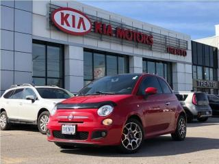 Used 2013 Fiat 500 Sport SPORT | LEATHER | SUNROOF | KEYLESS ENTRY for sale in North York, ON