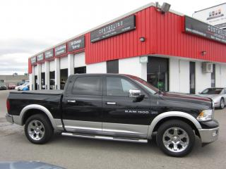 Used 2012 Dodge Ram 1500 $14,995 +HST +LIC FEE / CLEAN CARFAX REPORT / 5.7L HEMI LARAMIE for sale in North York, ON
