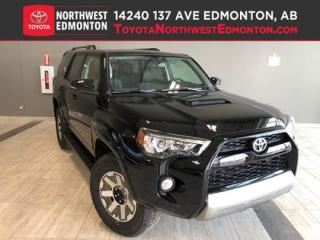 New 2019 Toyota 4Runner SR5 TRD Off Road for sale in Edmonton, AB
