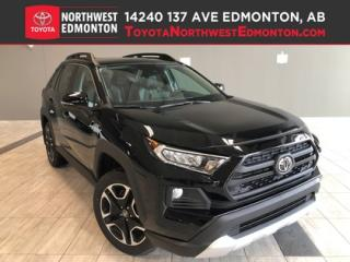 New 2019 Toyota RAV4 AWD Trail for sale in Edmonton, AB