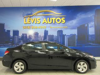 Used 2013 Honda Civic Lx Sièges Ch. A/c for sale in Lévis, QC