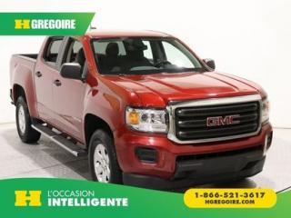 Used 2016 GMC Canyon 2WD A/C GR ELECT for sale in St-Léonard, QC