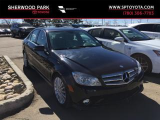 Used 2010 Mercedes-Benz C-Class 4DR SDN 2.5L RWD for sale in Sherwood Park, AB