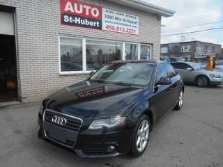 Used 2009 Audi A4 2.0T Quattro for sale in St-Hubert, QC