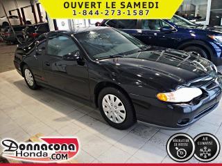 Used 2002 Chevrolet Monte Carlo Coupé LS ***SUPER RARE*** for sale in Donnacona, QC
