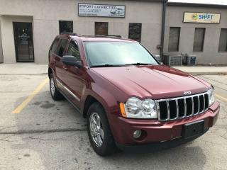 Used 2007 Jeep Grand Cherokee 3.0L DIESEL Limited,NAV,DVD,BACK UP CAMERA for sale in Burlington, ON