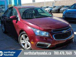 Used 2015 Chevrolet Cruze DIESEL/LEATHER/SUNROOF/BACKUPCAM for sale in Edmonton, AB