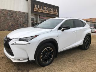 Used 2016 Lexus NX F sport. AWD. Navi. Rear view camera. Bluetooth. for sale in North York, ON