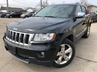 Used 2013 Jeep Grand Cherokee Overland for sale in Hamilton, ON