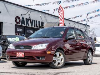 Used 2007 Ford Focus 4DR SDN for sale in Oakville, ON