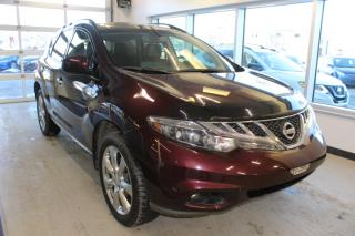 Used 2014 Nissan Murano LE PLATINUM *GPS-CUIR-TOIT* for sale in Lévis, QC