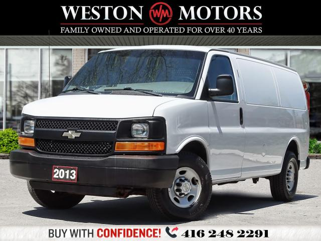2013 Chevrolet Express 2500 4.8L*SHELVING*READY FOR WORK!!*