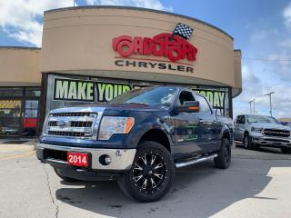 Used 2014 Ford F-150 XLT+XTR+SUPERCREW+LIFT KIT+OFF WHEELS & TIRES for sale in Toronto, ON