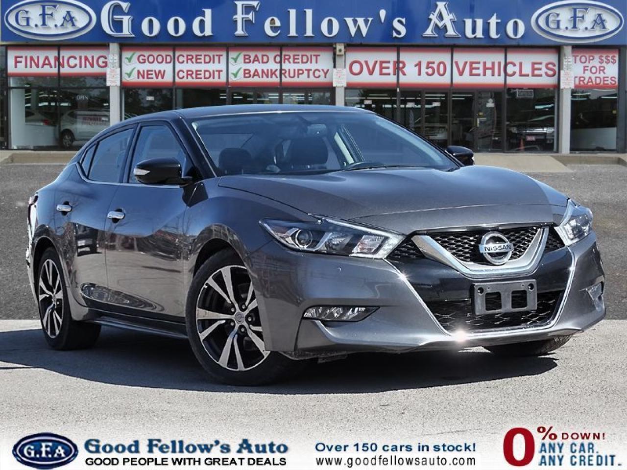 2017 Nissan Maxima SV MODEL, LEATHER SEATS, NAVI, REARVIEW CAMERA