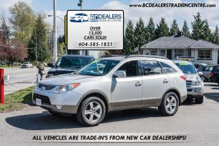 Used 2010 Hyundai Veracruz GLS, Local, No Accidents, AWD, Service History for sale in Surrey, BC