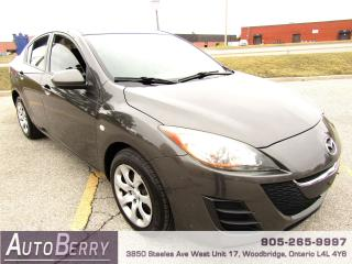 Used 2010 Mazda MAZDA3 2.0L - GS - FWD for sale in Woodbridge, ON