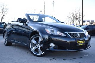 Used 2010 Lexus IS 350 IS350C- SALE -CERTIFIED - DROPHEAD - TRIPLE BLACK! for sale in Oakville, ON