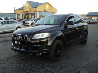 Used 2013 Audi Q7 3.0L TDI Diesel AWD Premium for sale in Brantford, ON