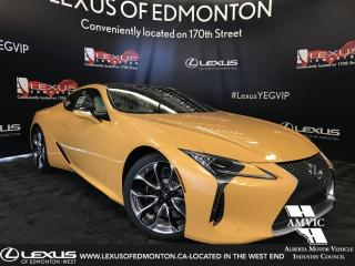 New 2019 Lexus LC 500 Inspiration Series for sale in Edmonton, AB