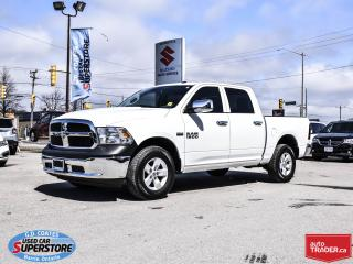 Used 2017 RAM 1500 SXT Crew Cab 4x4 ~5.7L HEMI V8 ~Alloy Wheels for sale in Barrie, ON
