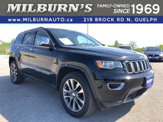 Used 2018 Jeep Grand Cherokee Limited 4x4 / NAV / SUNROOF for sale in Guelph, ON