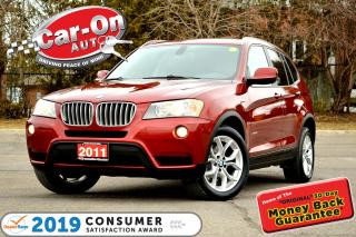 Used 2011 BMW X3 xDrive28i AWD LEATHER PANO ROOF HTD SEATS LOADED for sale in Ottawa, ON