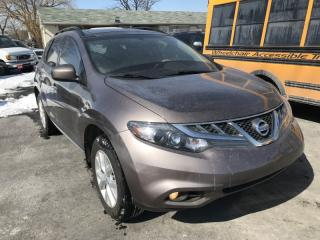 Used 2013 Nissan Murano AWD 4DR for sale in Brampton, ON