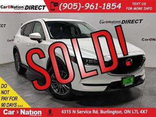 Used 2018 Mazda CX-5 GS| AWD| SUNOOF| LEATHER-TRIMMED SEATS| for sale in Burlington, ON