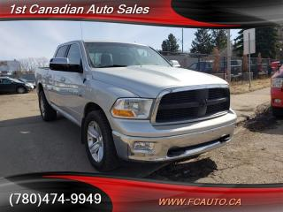 Used 2012 RAM 1500 SLT-CREW-4X4-NO ACCIDENTS-LOW Monthly PAYMENTS!! for sale in Edmonton, AB