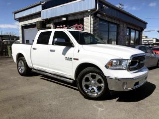 Used 2017 RAM 1500 Cabine muliplaces 4RM, 140,5 po Laramie for sale in Longueuil, QC
