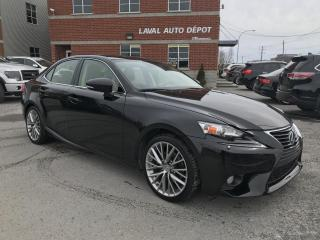 Used 2014 Lexus IS 250 Berline 4 portes traction intégrale for sale in Laval, QC
