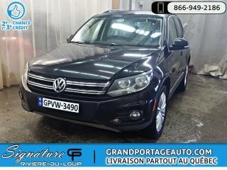 Used 2012 Volkswagen Tiguan Highline 4Motion Auto Toit Cuir **CLEAN* for sale in Rivière-Du-Loup, QC