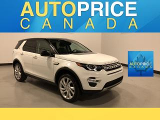 Used 2016 Land Rover Discovery Sport HSE LUXURY NAVIGATION|PANOROOF|LEATHER for sale in Mississauga, ON