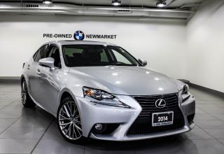 Used 2014 Lexus IS 250 AWD 6A -NO ACCIDENTS|KEYLESS ENTRY| for sale in Newmarket, ON