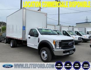 Used 2017 Ford F-550 ROUE DOUBLE, 6.7L DIESEL 16 PIEDS for sale in St-Jérôme, QC