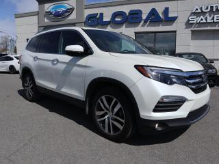 Used 2016 Honda Pilot Touring 4WD ONLY 29 K.  LEATHER NAVIGATION TV/DVD. for sale in Ottawa, ON