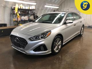 Used 2019 Hyundai Sonata Essential w/Sport Pkg* Sunroof * Leather * Active SPORT mode * Blindspot assist * Power drivers seat lumbar * Phone connect * Voice recognition * Reve for sale in Cambridge, ON