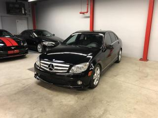 Used 2010 Mercedes-Benz C 300 C300, 4MATIC,AUTO., GPS, CUIR, TOIT, MAG for sale in Montréal, QC